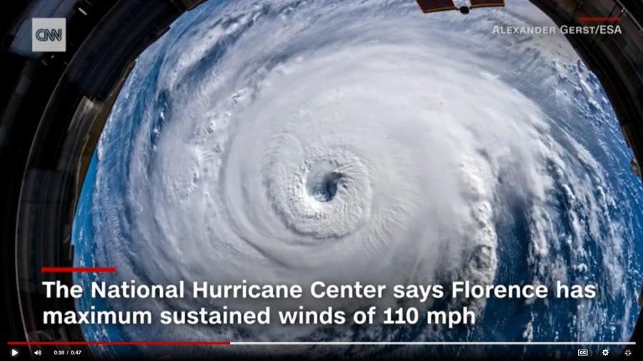 Hurricane Florence Threatens Carolinas; Alarm Companies Prepare for Storm