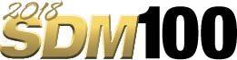 2018 SDM 100 logo