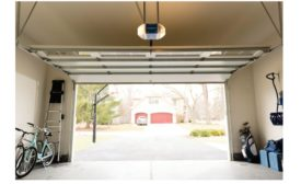 garage door control with vivint smart home app