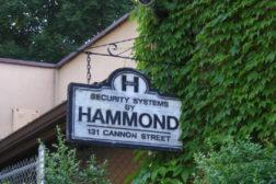 Hammond_security_sign