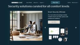Brinks Home redesign