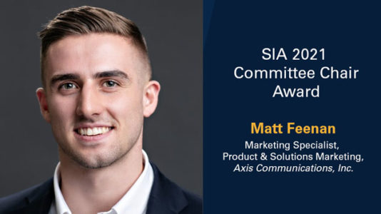 SIA Committee Chair of the Year 2021