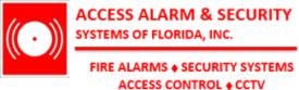 Access Alarms
