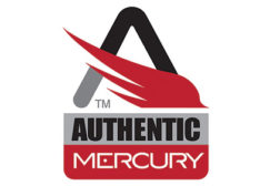Authentic mercury logo