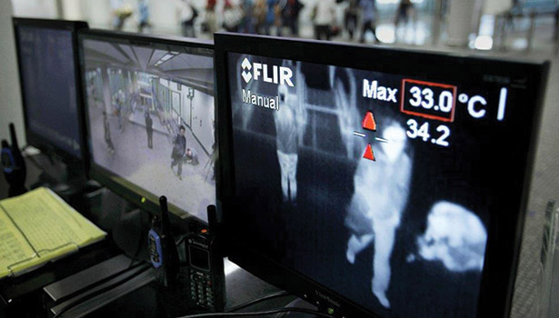 FLIR devices were used during the SARS outbreak in Asia.