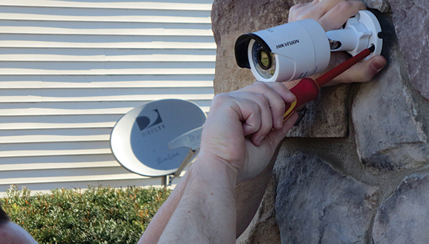 Rock Camera Surveillance : More homeowners seek to extend security outside of residences 2014