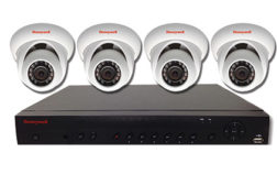 honeywell bundled ip kits with NVR