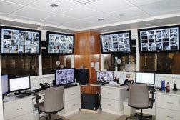 The security office at Highland-Clarksburg Hospital
