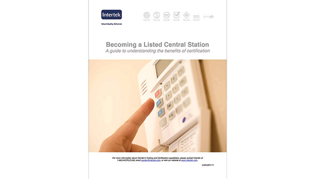 Intertek central station certification