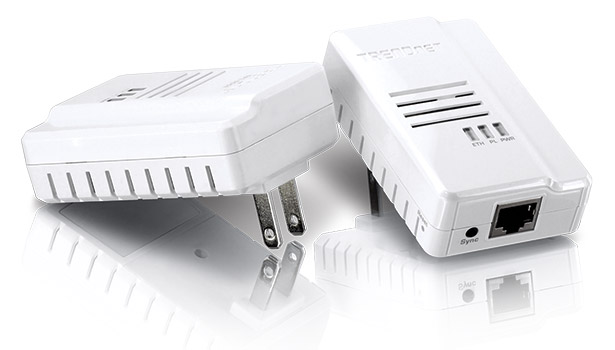 Trendnet AC/Ethernet adapters can connect any IP device to a customer's LAN using their AC power outlets.