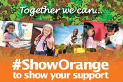 Mission 500 show orange campaign