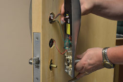 Some manufacturers, such as ASSA ABLOY, offer hands-on training to ensure a high degree of comfort and knowledge in installing integrated access control locks.