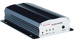 The VD022 decodes full 1080P video from up to four IP cameras without a PC or NVR at up to 30FPS