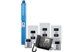 The IX Series is a network-based, all-in-one communication and security control system