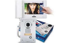 JP Series touchscreen video intercom