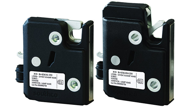 The R4-EM 8 Series combines the performance of a rotary latch mechanism with simplified DC motor actuation.
