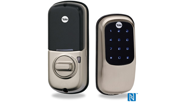 Residential Door Lock Is Nfc Enabled 2015 02 16 Sdm