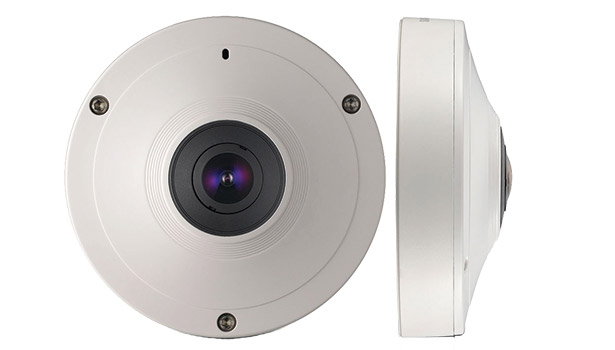 Techwin's SNF-8010 and the mobile SNF-8010VM fisheye cameras
