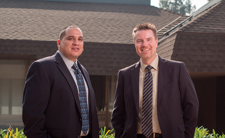 Complete Home Security and Services founders�¢?? CFO Javier Alvarez (left) and CEO David Shea (right) started the company in 2011.