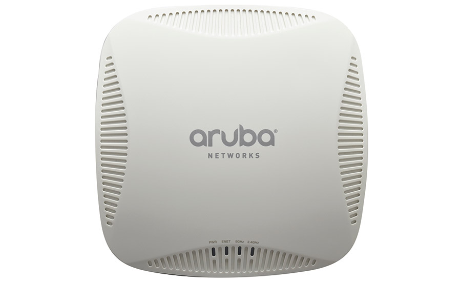 The muscle car of Wi-Fi access points, the Aruba IAP-205 is simple to program and supercharges Wi-Fi bandwidth.