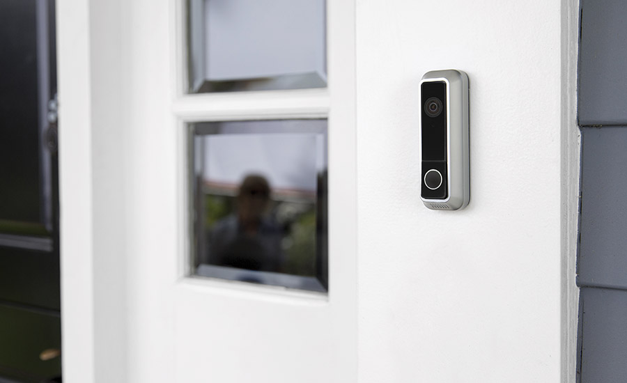 Vivint's connected home product allows users to know when someone is approaching their front door.  PHOTO COURTESY OF VIVINT