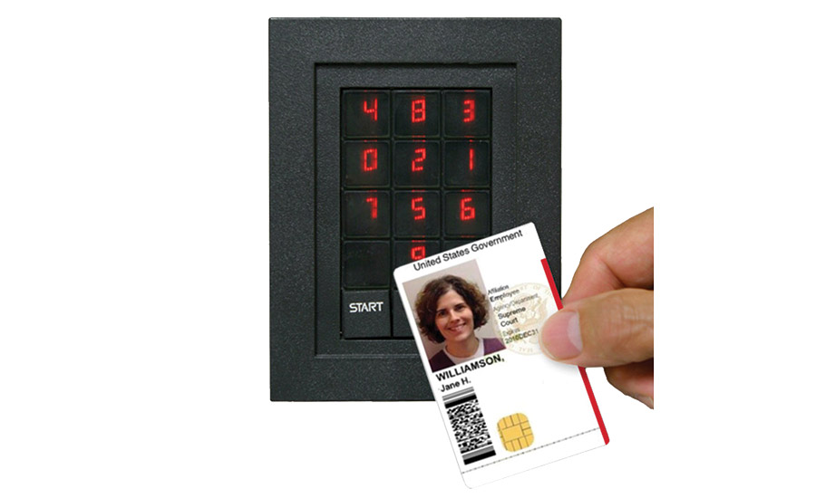 Keypad Supports More Than 1 500 Credentials 2015 07 09