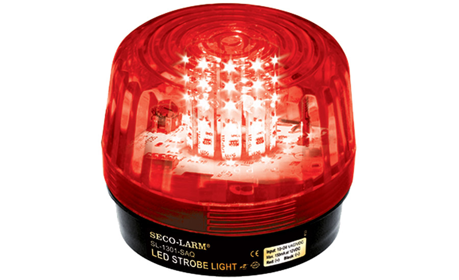 ENFORCER SL-1301-SAQ LED strobe lights by SECO-LARM U.S.A. Inc.