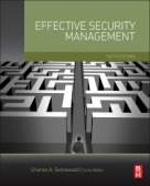 Effective Security Management   6th Edition