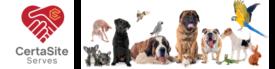 CertaSite Humane Society