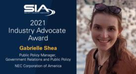 SIA 2021 Industry Advocate Award